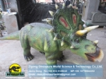 Animatronic Simulation Walking Dinosaur of Styracosaurus Ride DWE040